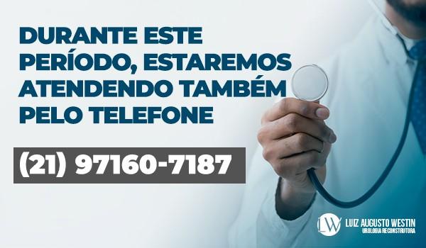 Durante este período, estaremos atendendo também pelo telefone (21)97160-7187